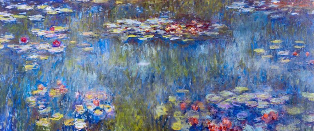 Claude-Monet-le-bassin-aux-nympheas-reflets-verts